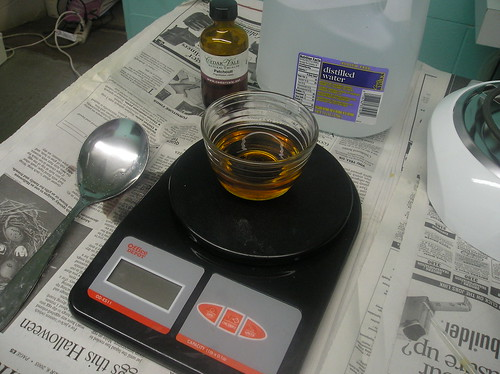 Measuring Essential Oil
