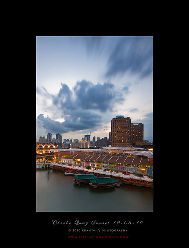 Clarke Quay Sunset 120610 #1