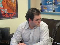 BNZ Union Councillor, Gareth Child