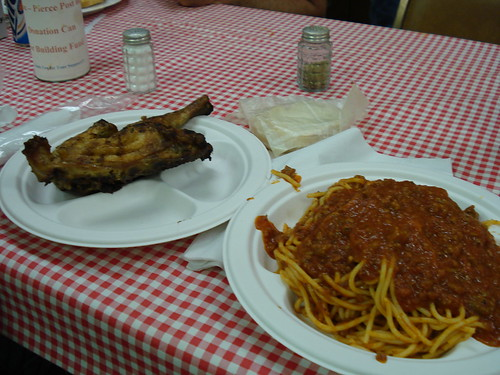 Chicken and Spagetti