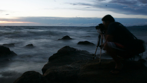 Shot by the beach in Puerto Galera at dusk