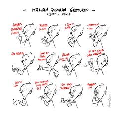 Popular Italian Gestures [pic]