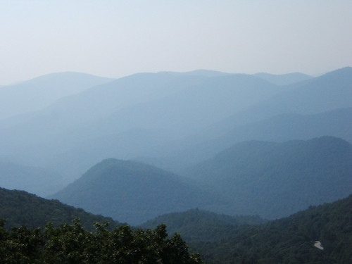 Smoky Mountains from Brasstown Bald