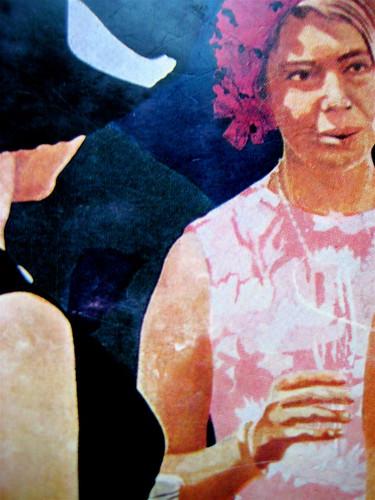 """James Purdy, I figli sono tutto; Einaudi 1971; immagine di copertina: Howard Kanovitz, """"Drinks"""" (part.)"""