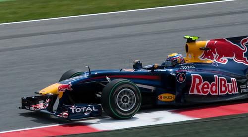 Mark Webber - Red Bull racing