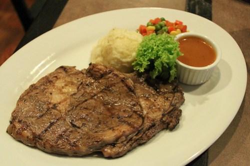 Santino's at Goodfellas Steaks and Burgers(ribeye steak) at Goodfellas Steaks and Burgers