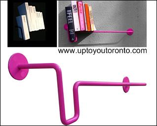 U Bend book shelf