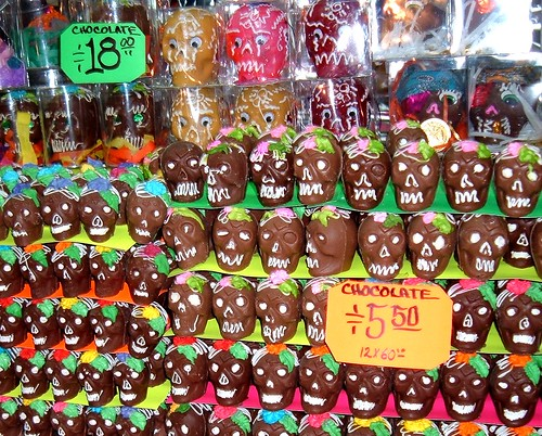 Chocolate Skulls in Toluca, Mexico, 2006 by Todd Mecklem