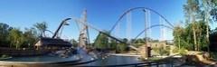Cedar Point - Shoot the Rapids Panorama