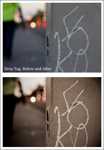 Strip Tag - Before & After