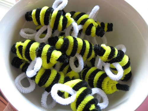 bowlful of bees