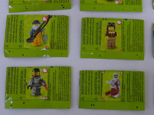 Series 3 Minifigures Code 1