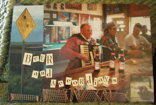 beer and accordians
