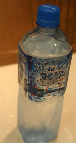 bottled water with trace elements