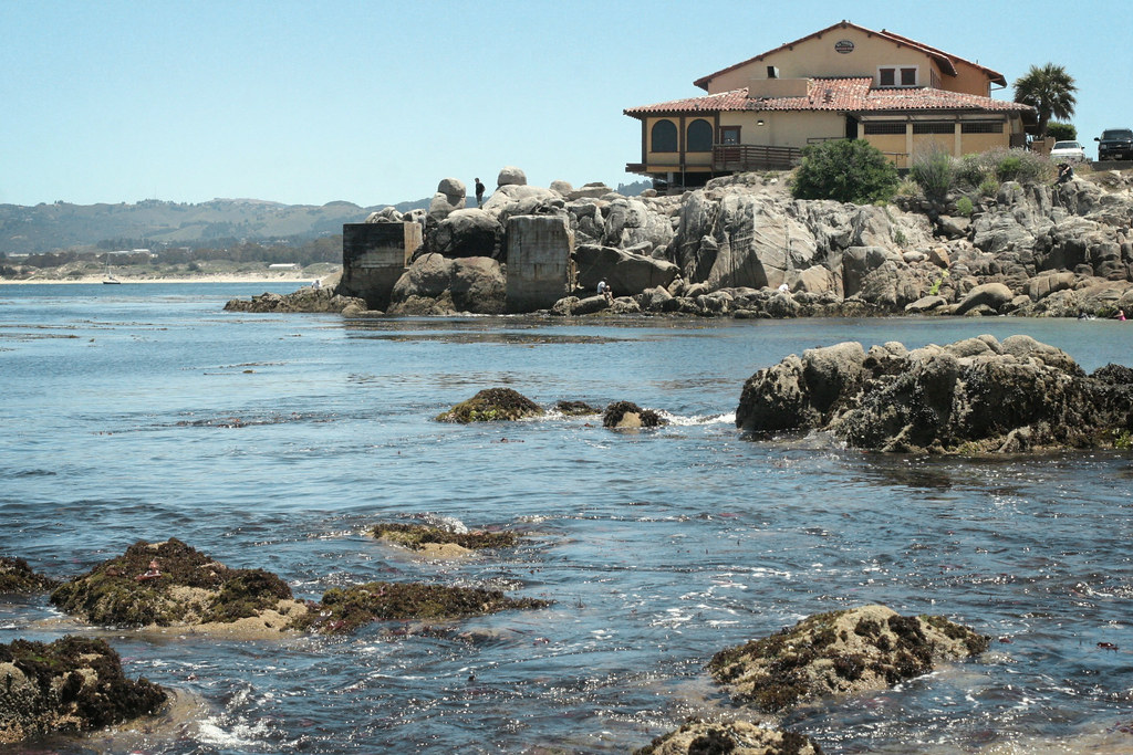 Beach on Cannery Row