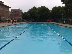 morning at holstein park pool