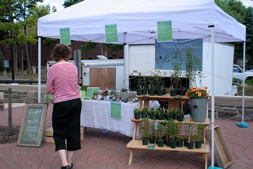 Love n Fresh Flowers market stand