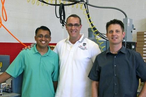 Manish Naik (Furnace), Holger Neumann (Pallas), Eric Astor (Furnace)