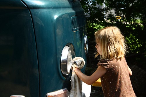 Cleaning the Westy 2