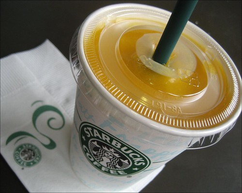 starbucks mango and passion fruit smoothie