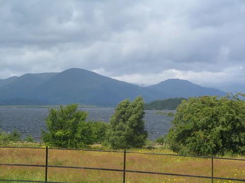 Loch Lomond sett från Ross Priory