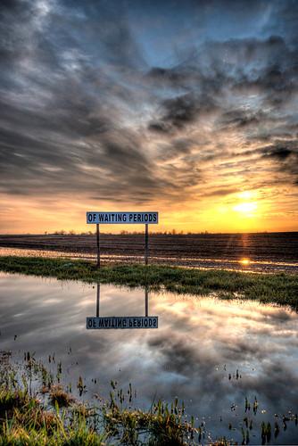 Maroa-Illinois-Rt-51-Sunset-HDR