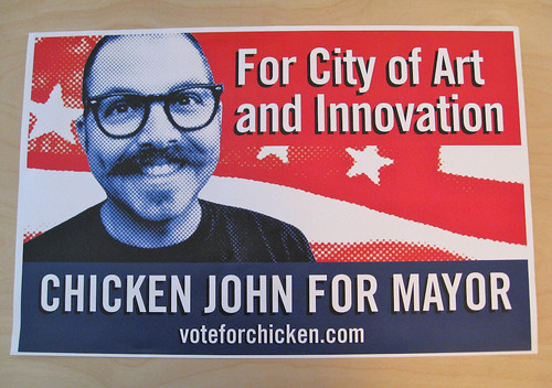Chicken John For Mayor