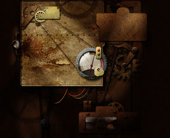 Steam Punk Background/Wallpaper/Desktop (work ...