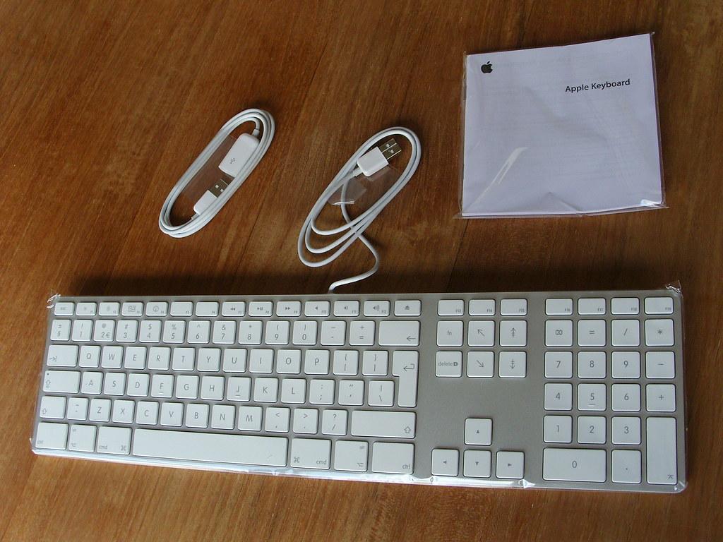 keyboard box contents