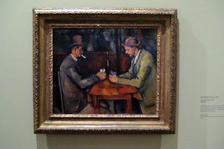 Paris - Musée d'Orsay: Paul Cézanne's Les Joue...