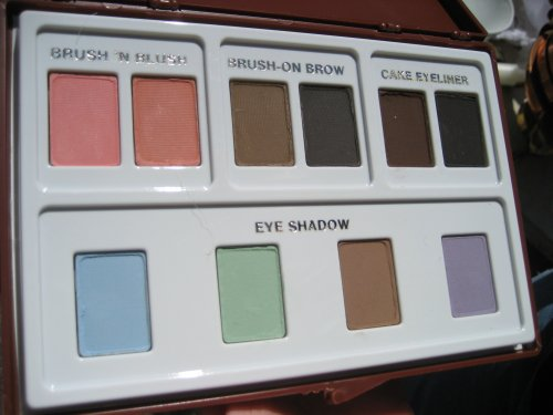 Makeup palette of yesteryear