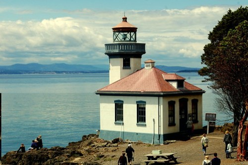 Lime Kiln Park Lighthouse