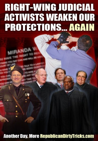 SCOTUS Right Wing Activists Image