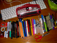 What's in your pencil case?