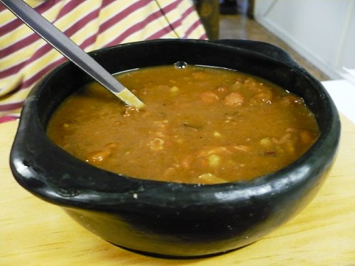 Colombian bean soup