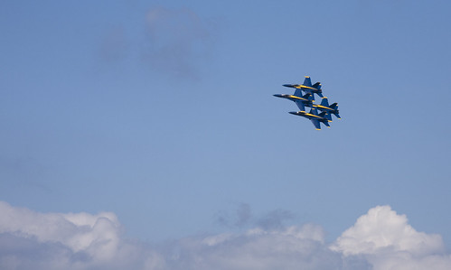 More Blue Angels @ Seafair 2007