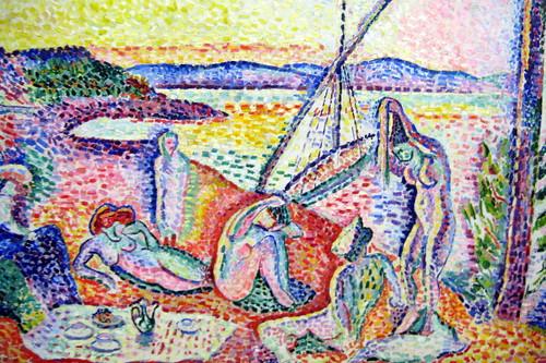 Paris - Musée d'Orsay: Henri Matisse's Luxe, c...