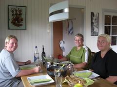 Kristin, Karin og Mona