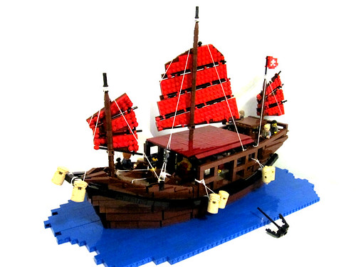 Lego Ship Chinese Junk