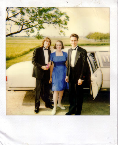 Matt Jaques and Steph Pearson - a hot item at SHDHS - with the publisher before prom 1993. Jaques is now a restaurant manager and boat captain in Nanaimo, BC while Pearson teaches in Ottawa.