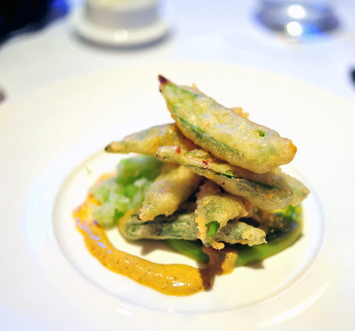 6th Course: Fried Local Okra (Supplement)