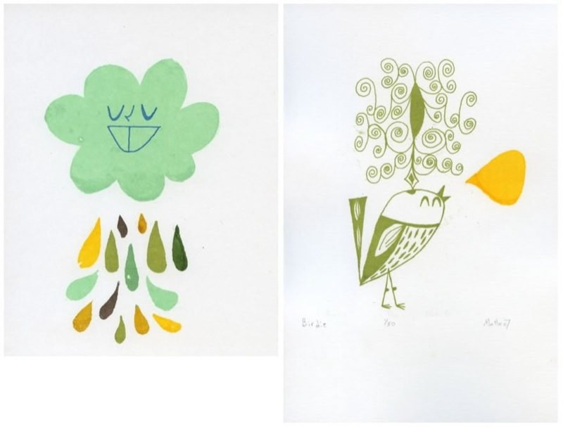 Matte Stephens *New* Gocco Prints