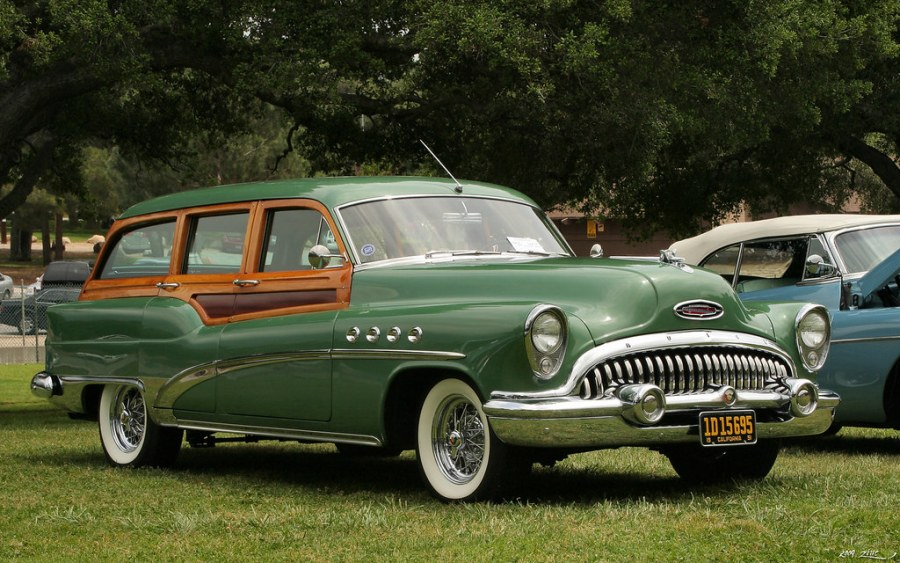 1974 ford cars » Blog Post   The Knotty History of the Woody Wagon   Car Talk 1953 Buick Roadmaster Estate Wagon   Gre by Rex Gray  on Flickr