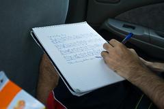 Screenwriting in the Car