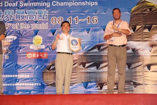 2007聽障游泳錦標賽-閉幕典禮-義大利