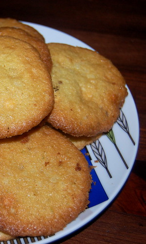 tequila - white chocolate cookies