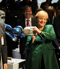 Frau Merkel und Herr Justin