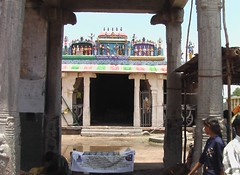 Hall outside the temple