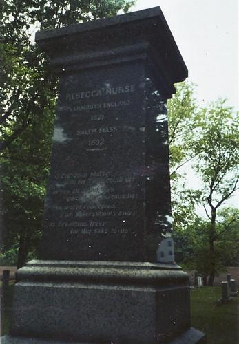 Rebecca Nurse grave