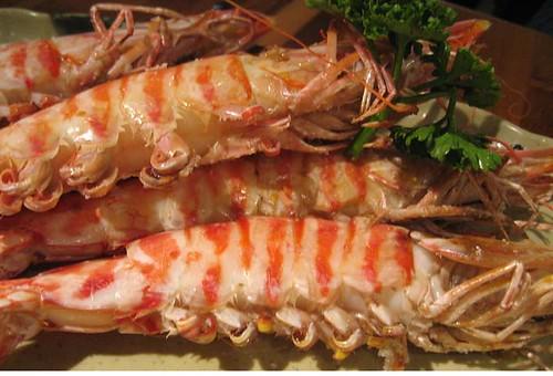 BBQ prawns / 烤明蝦